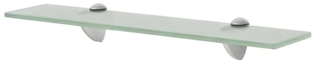 243772 vidaXL Raft suspendat din sticlă, 50 x 10 cm, 8 mm