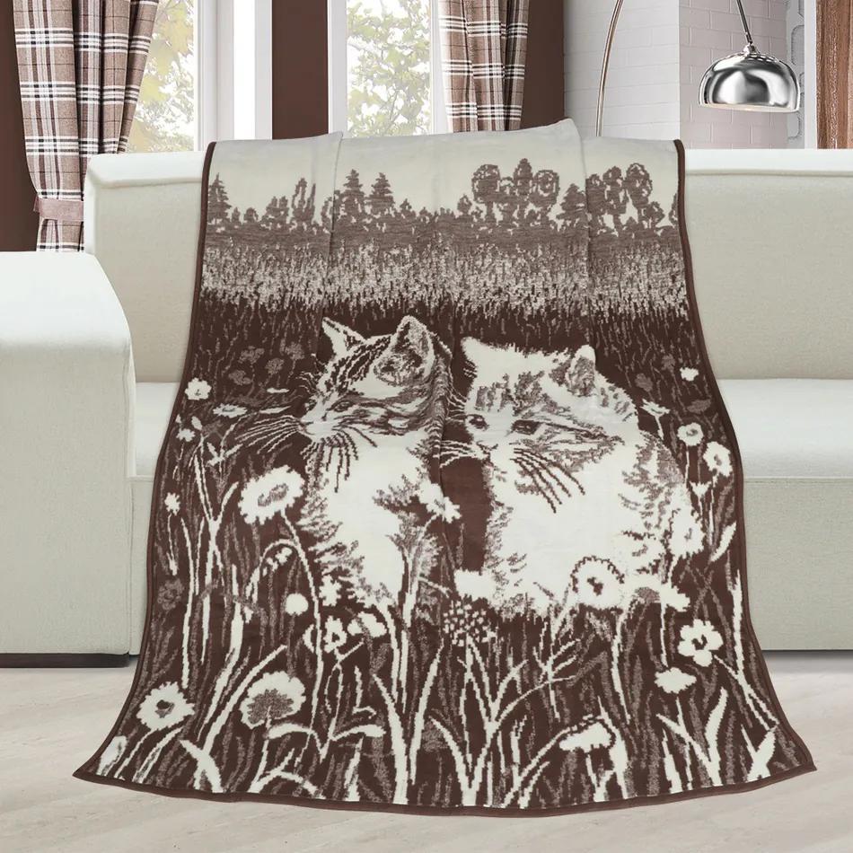 Pătură Karmela plus Pisici, 150 x 200 cm