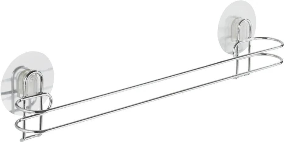 Suport autoadeziv pentru prosoape Wenko Static-Loc 45 cm