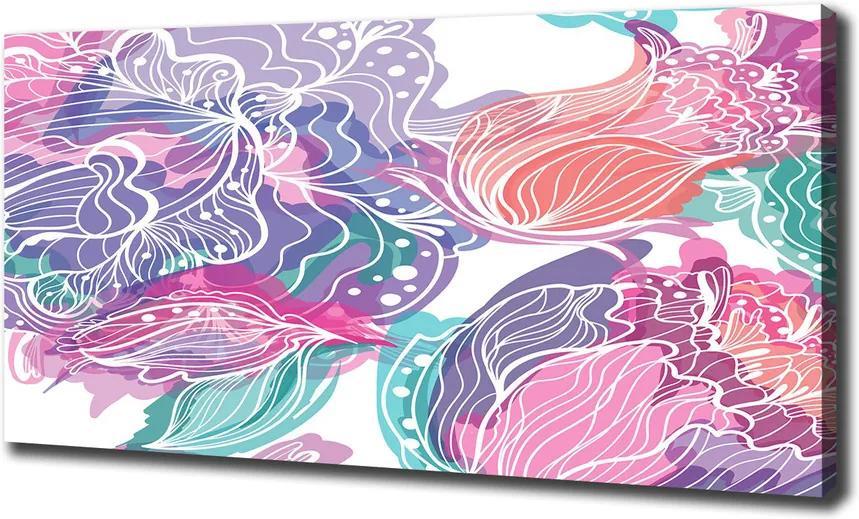 Tablou pe pânză canvas Flori magice