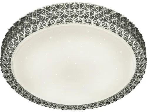 Plafoniera cu LED integrat Pegasus 20W 1800 lumeni, alb/antracit