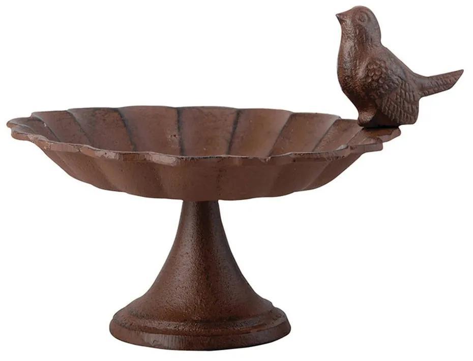 Hrănitor fontă pentru păsări Esschert Design, lățime 19,2 cm