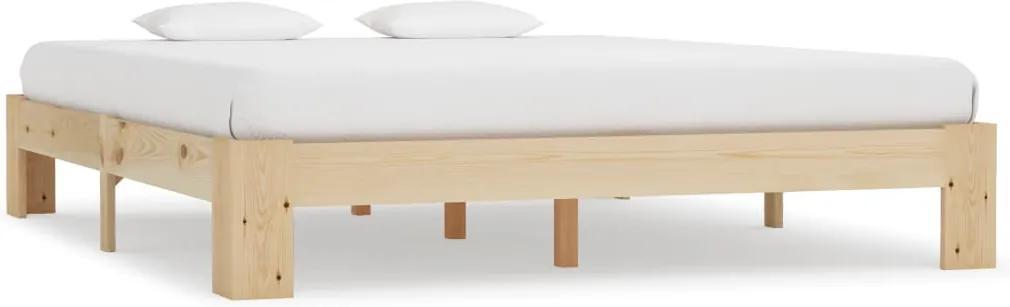 Cadru de pat, 180 x 200 cm, lemn masiv de pin