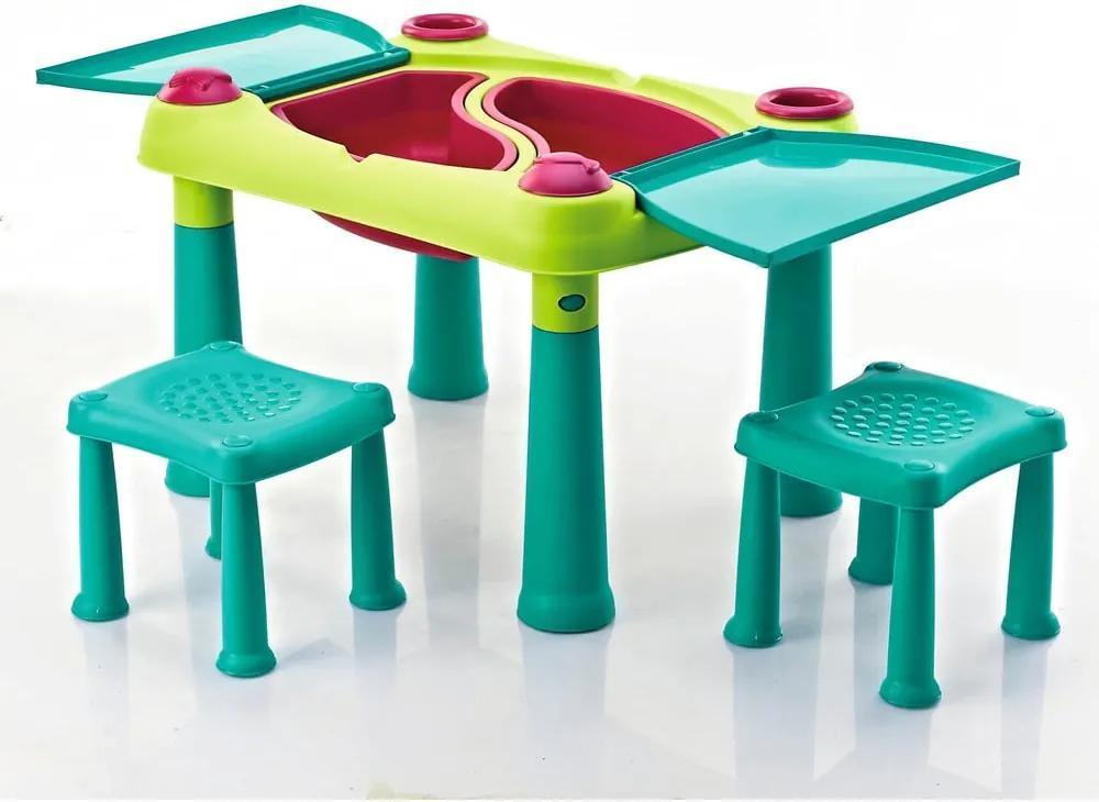 Masă pentru jocuri și activități creative cu 2 scaune Curver Creative