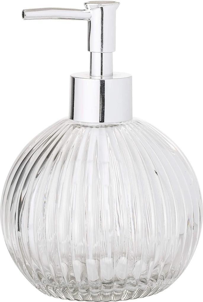 Recipient pentru Sapun din Sticla Clear S - Sticla Transparent Diametru(10.5 cm) x Inaltime(15.5 cm)