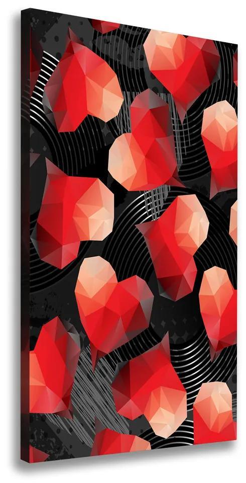 Tablou canvas Inima geometrică