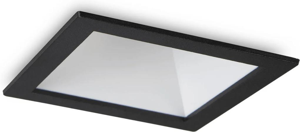 Spot-Incastrat-GAME-SQUARE-BLACK-WHITE-192406-Ideal-Lux