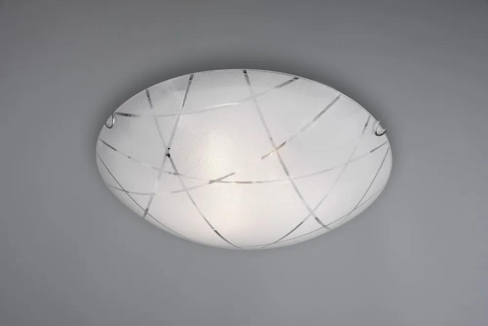 Trio 601200300 Plafoniere SANDRINA alb sticlă excl. 3 x E27 IP20