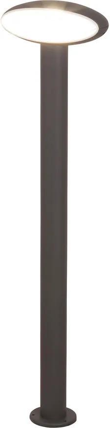 Rábalux 8704 Stalpi și lampadare de exterior Bristol  metal LED 9W 810lm 4000K IP54 A+