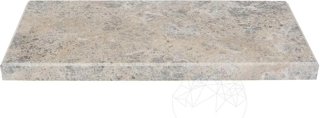 Etajera/Raft marmura tundra 30 x 14.5 x 2 cm