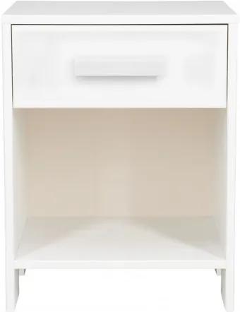 Noptiera din pin alb Robin, 52x40x34 cm