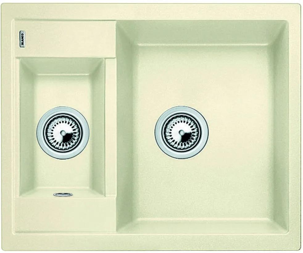 Chiuveta de bucatarie Blanco METRA 6 silgranit, jasmin, 516174, 61,5 cm