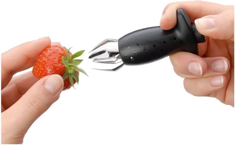 Dispozitiv pentru extras cotoare/sâmburi fructe WMF Cromargan® Huller, negru