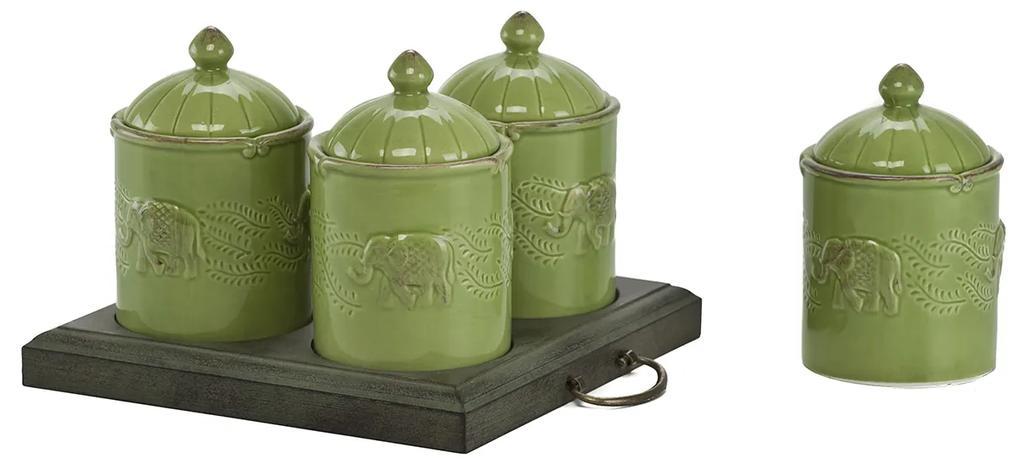 Set recipiente Zielone