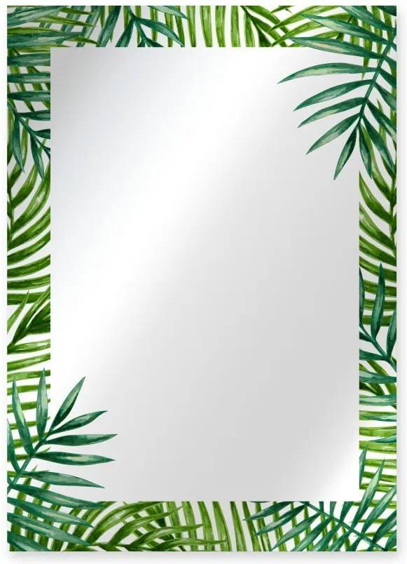 Oglindă de perete Surdic Espejo Decorado Monstera, 50 x 70 cm