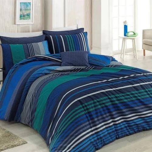 Lenjerie de pat Marley albastru albastru, 140 x 220 cm, 70 x 90 cm