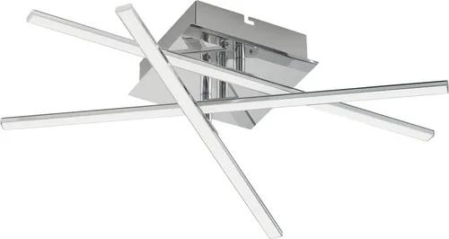 Plafoniera cu LED integrat Lasana1 18W 1890 lumeni, alb/crom