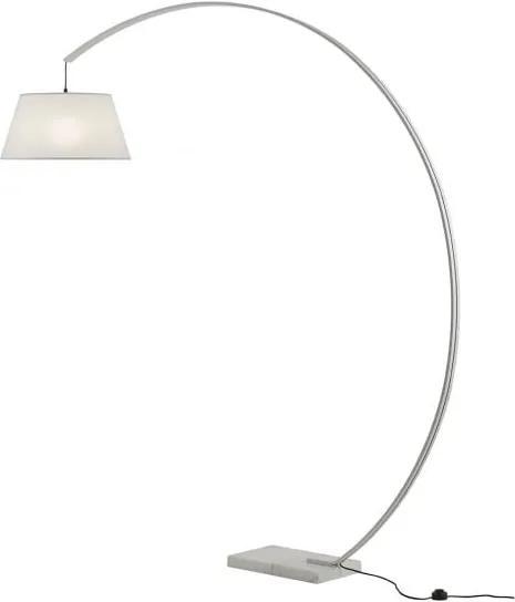 Lampadar Redo SWAP alb, bază marmură