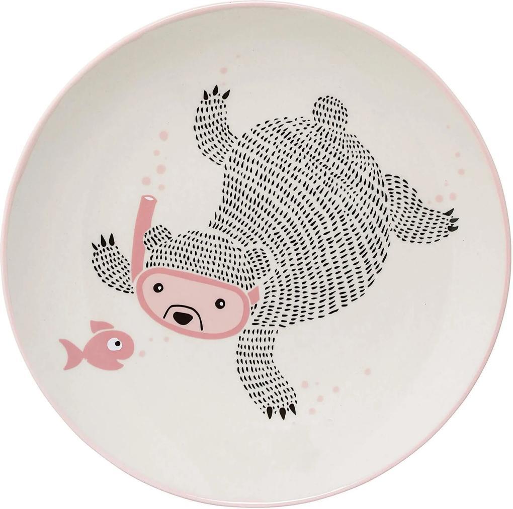 Farfurie Ellie Rose - Ceramica Rose Diametru(20 cm)