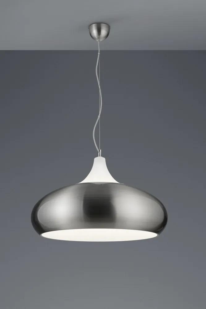 Trio 307700307 Candelabre/lustre de bucătărie LISBOA nichel mat metal excl. 3 x E27, max. 42W IP20