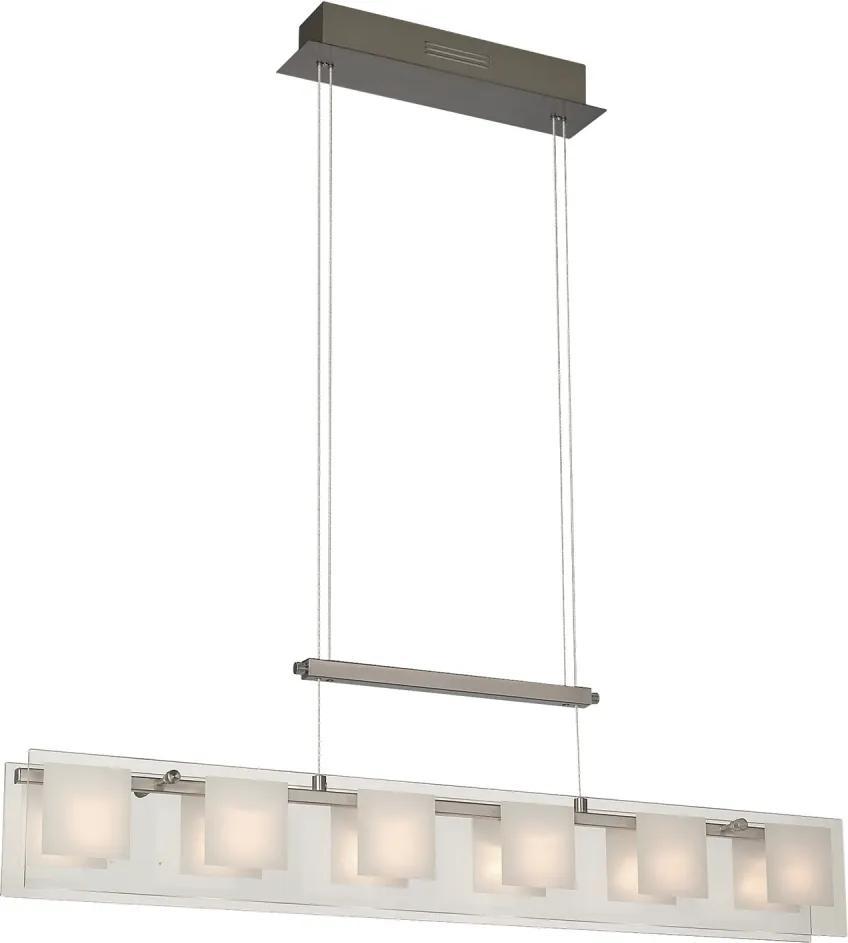 Philips Massive 40389/17/10 - Lampa suspendata FARIO 6xG4/20W/230V