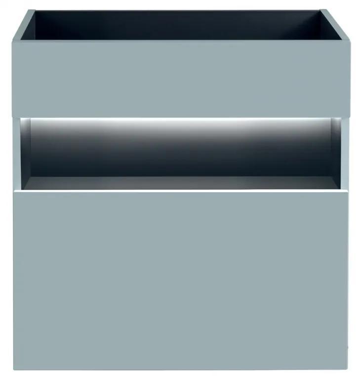 Masca cu 1 sertar Bond Mint 60 cm Menta, 46 cm, 60 cm, 68 cm