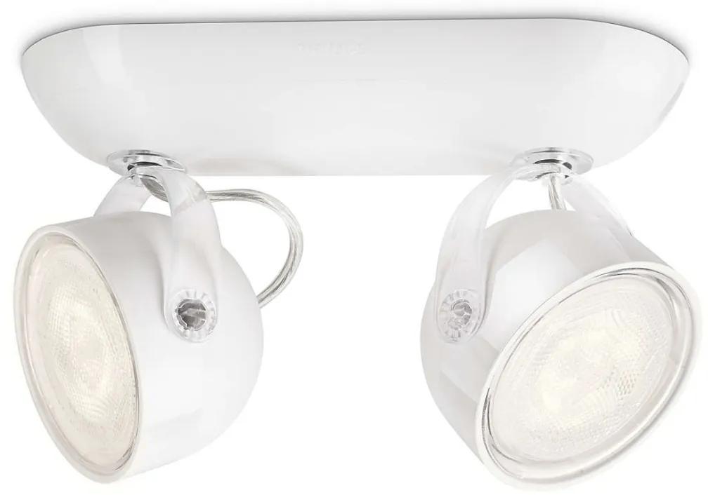 Philips 53232/31/16 - LED Lampa spot MYLIVING DYNA 2xLED/3W/230V