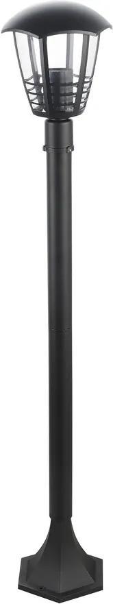 Rábalux Marseille 8568 Lampadare exterior negru E27 1X MAX 60W Ø170 x 1000 mm