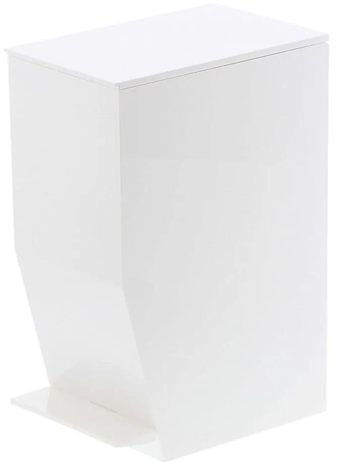 Coș de gunoi pentru baie YAMAZAKI, alb