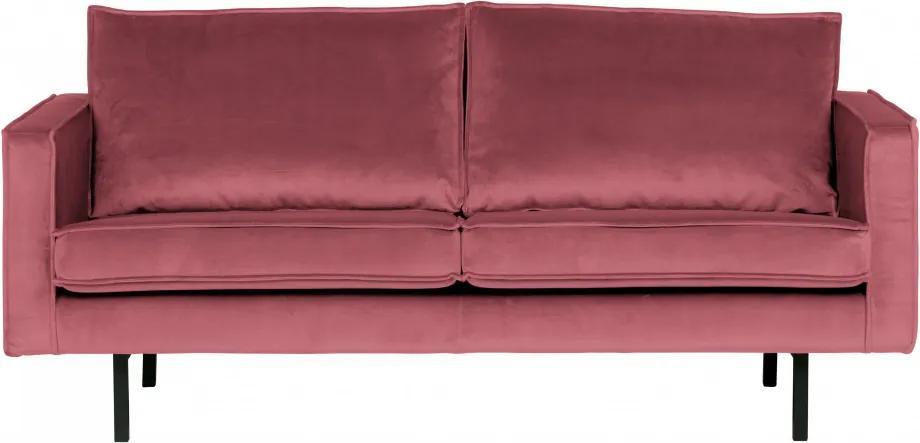 Canapea Rodeo, 2 locuri, roz
