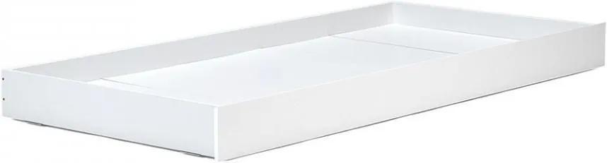 Sertar pat alb din lemn de pin Tipi