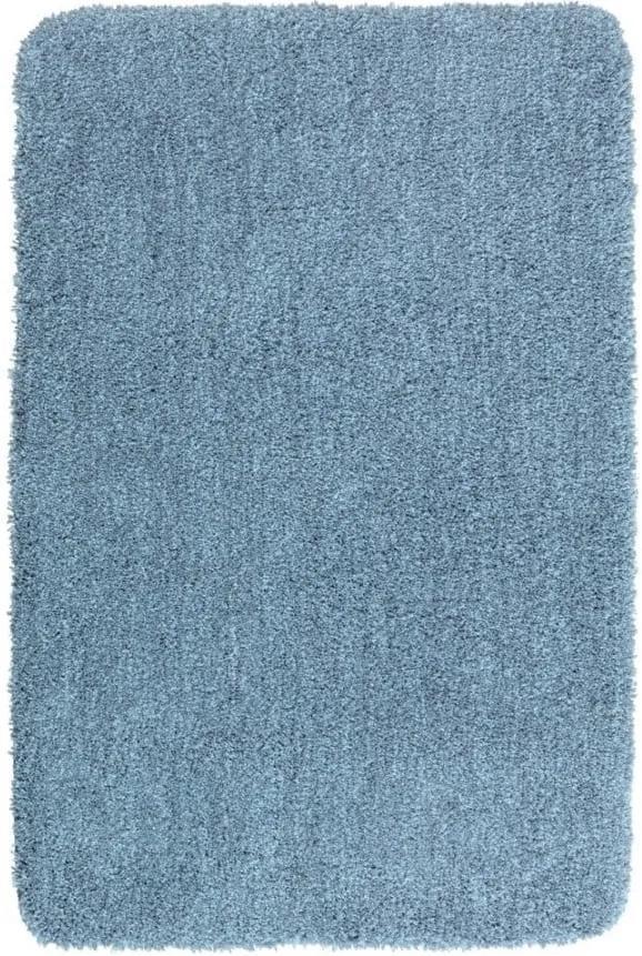 Covor baie Wenko Mélange, 90 x 60 cm, albastru