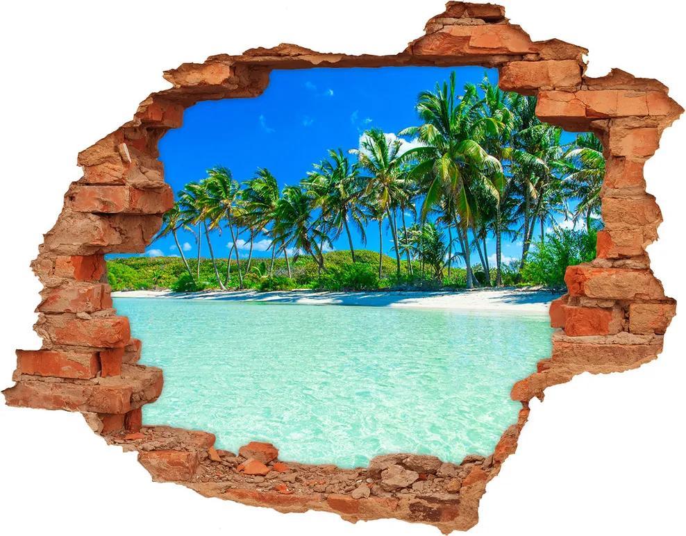 Samolepiaca diera na stenu Priezračná voda