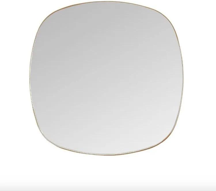 Oglinda patrata maro din alama 50x50 cm Dobles Brass Mini