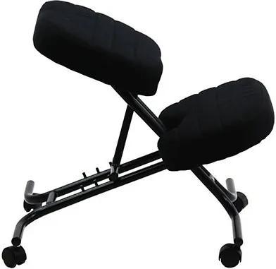 Scaun ergonomic kneeling chair OFF 093 Negru