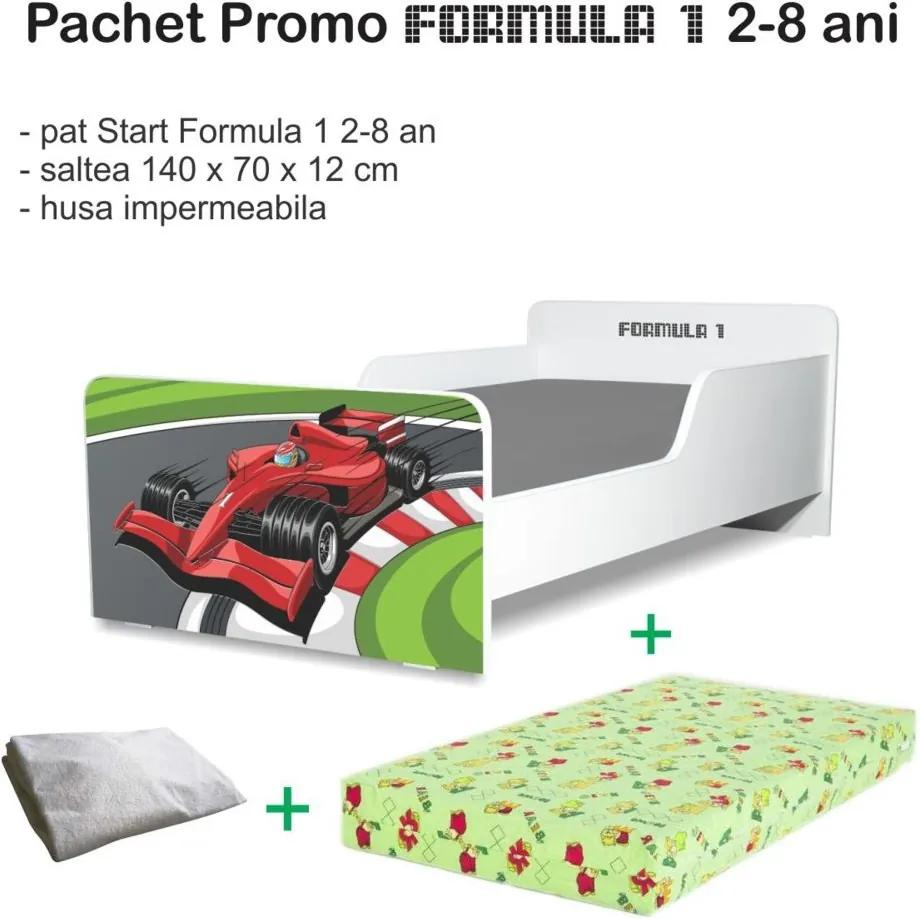 Pachet Promo Pat copii Formula 1 2-8 ani