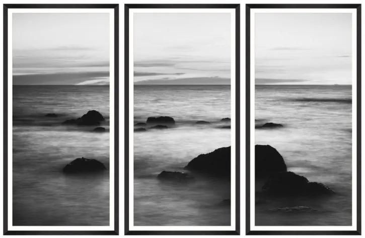 Tablou 3 piese Framed Art Night Silence