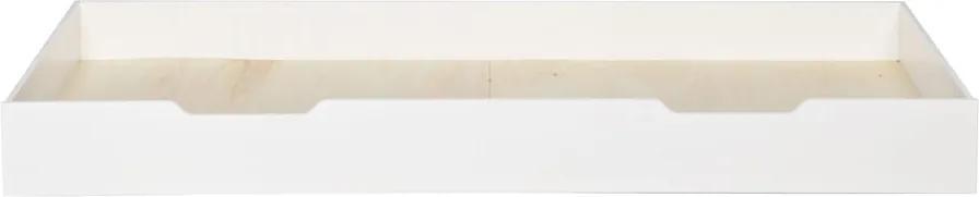 Sertar suplimentar pat WOOOD Nikki, 200 x 90 cm, alb