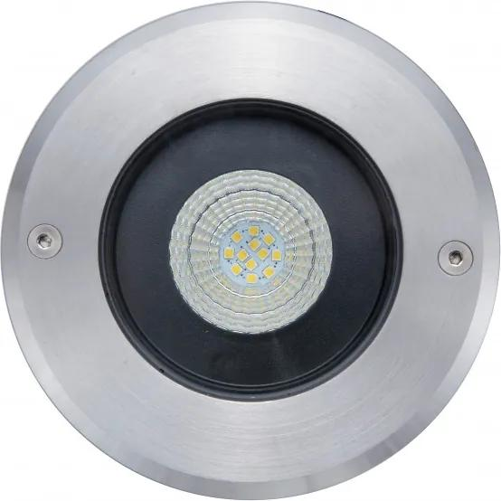 Lutec 7704801012 Incastrate in pamant DENVER oțel inoxidabil aluminiu Lextar  3030 1030lm 4000K IP67 A+
