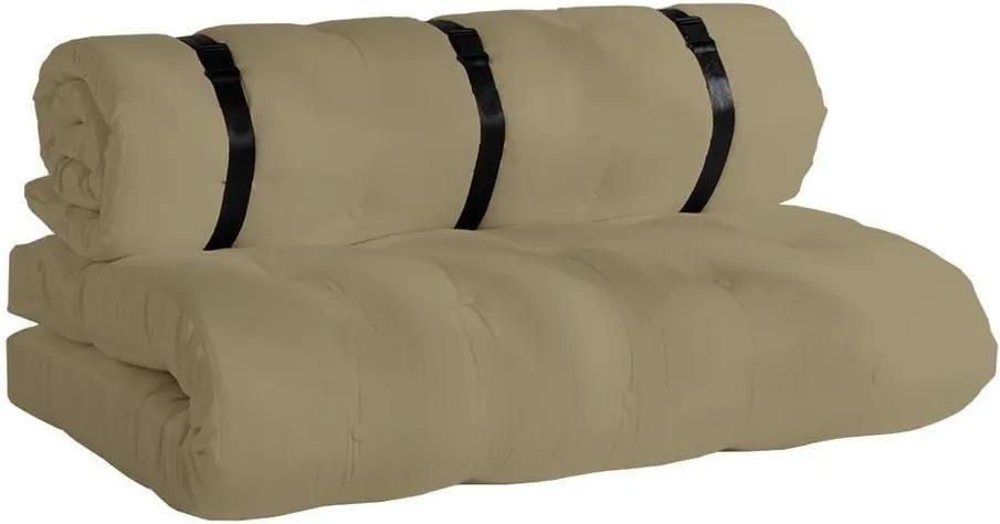 Canapea extensibilă adecvată pentru exterior Karup Design Design OUT™ Buckle Up Beige, bej