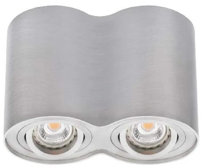 Kanlux 22553 - Lampa spot BORD 2xGU10/25W/230V crom