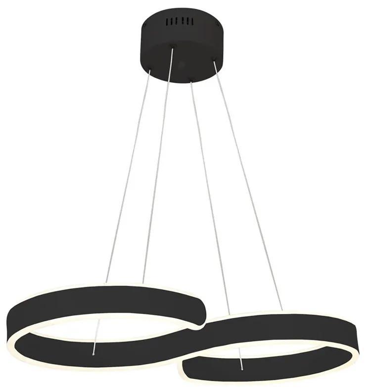 Suspensie INFINITY Milagro Modern, LED, Negru, ML5479, Polonia