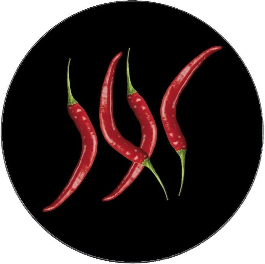 Suport de sticlă pentru oală Wenko Hot Pepper