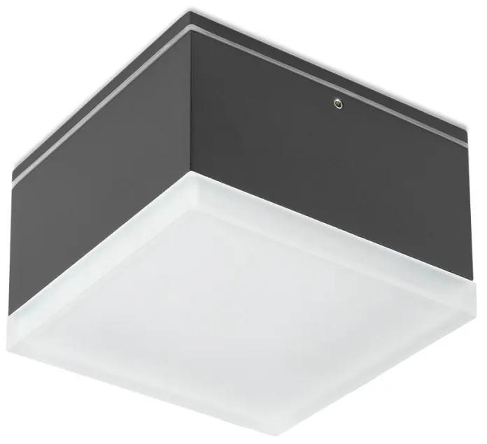 Redo 90109 - Plafonieră LED exterior AKRON 1xLED/9W/230V IP54