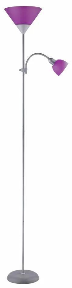 Lampă de podea Rabalux 4020 Action, violet