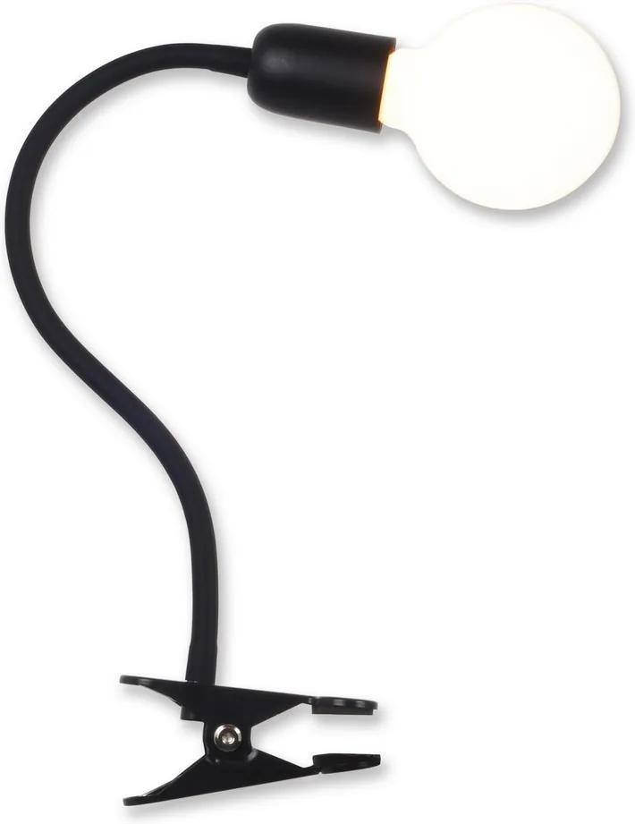 Top Light Galileo KL C - Lampă cu clips 1xE27/40W/230V negru