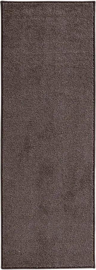 Covor Hanse Home Pure, 80 x 300 cm, gri antracit