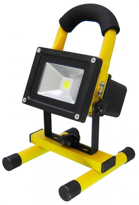 Proiector LED portabil cu acumulator