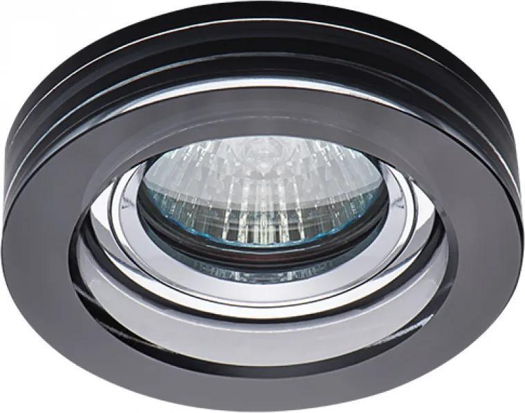 Kanlux 22116 Spoturi incastrate Morta negru sticlă 1 x MR-16 max. 50W IP20
