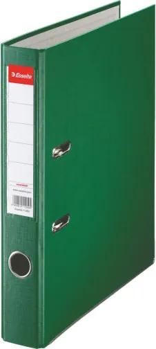Biblioraft plastifiat ESSELTE 5cm verde economy